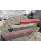 Бордюр бетонный серый